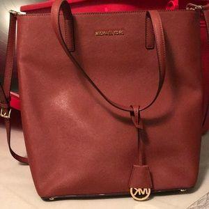 Real Michael Kors Handbag. Rust color.